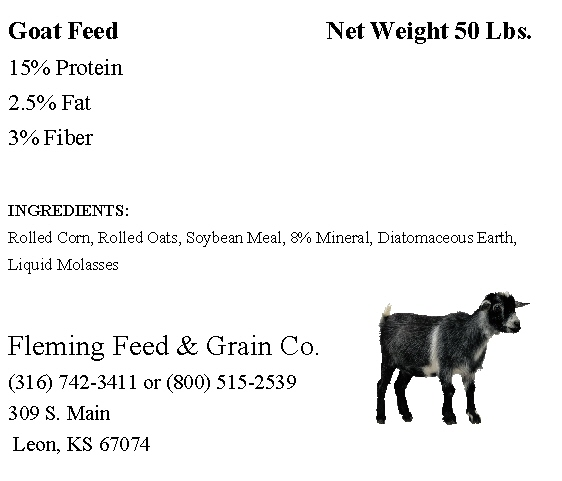 goat feed - Avery 5664 Clear Ad